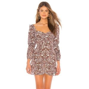For Love and Lemons Georgi Dress BNWT in Lilac